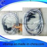Tubo flessibile di acquazzone dell'acciaio inossidabile di allegato della stanza da bagno flessibile
