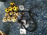 Nieuwe Lucht vast 2 van het Ontwerp in 1 Spel van het Pijltje van het Voetbal Opblaasbaar met Verwijderbare Klitband