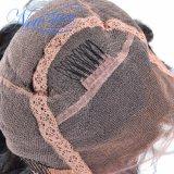 Volle Spitze-Menschenhaar-Großhandelsperücken für schwarze Frauen brasilianische Remy Haar-Perücken