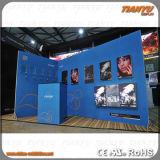 Metal que hace publicidad de diseño de la cabina del soporte de la exposición