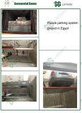 Gg elevadores hidráulicos montados com estrutura de aço de Estacionamento de quebra-cabeças