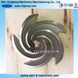 投資鋳造の炭素鋼のステンレス鋼ポンプインペラー
