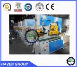 Máquina de perfuração e de corte do trabalhador do ferro