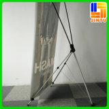 Flexibler X Fahnen-Standplatz der justierbaren x-Fahnen-Bildschirmanzeige-
