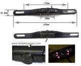 Universal de la placa del carnet mini cámara frontal con visión nocturna