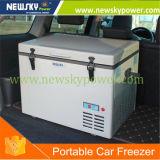Автомобиль постоянного тока с двойной из нержавеющей стали для мобильных ПК температуры морозильной камере 70L