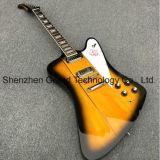 White Pickguard 6 string Thundbirds Firebird Electric Guitar (FB-10)