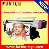 2 Dx5 Printheads 1440dpi Galaxy Ud3212ld Large Format Printer (3.2m/10FT、CMYK 4カラー、1440dpi)