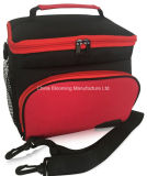 600d Vinho de poliéster Cool Lunch Ice Can Insulated Picnic Cooler Bag
