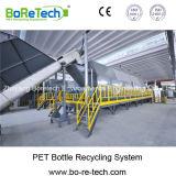Sistema de Reciclaje de Botellas del PET 3000 Kg/h