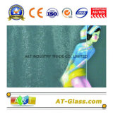 3~8mm telas o patrón de vidrio vidrio utilizado para la ventana, muebles, etc.