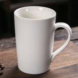 Tazza di ceramica bianca normale su ordinazione della tazza per la tazza di caffè di ceramica