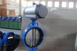 Тип клапан-бабочка вафли с пневматическим приводом (D641X-10/16)