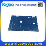 青いはんだマスクが付いているDVR PCBのボード
