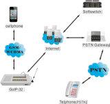 VoIP Call Termination를 위한 32의 포트 SIM Box GSM Gateway GoIP32