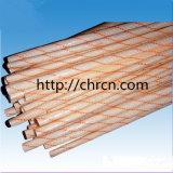 2715 isolatie Fibergalss Sleeving met de Hars van Polyvinyl Chloride