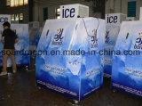 Escaninho de armazenamento frio do gelo do sistema da parede com capacidade 380lbs