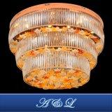 Luxe décontracté Flowery Crystal pour l'hôtel Le lobby de la lampe de plafond