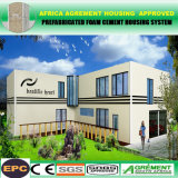 Gutes Isoliergrundbesitz-gut entworfenes flaches Dach-Fertighaus-Haus