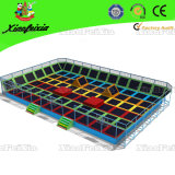 Dodge Ball (2520E)のための大人Rectangle Trampoline