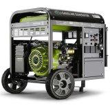 3kw aan 6kw de Luchtgekoelde Generator van de Benzine 100%Copper met Wielen