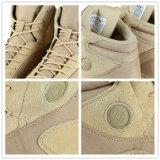Tactical Military Desert Khaki Chaussures de chasse Bottes de combat