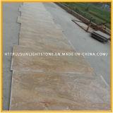 Imperiales Poliergold/goldene gelbe Granit-Fliesen für Fußboden, Wand