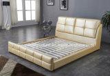 S248 Dormitorio muebles de cuero de diseño de moda