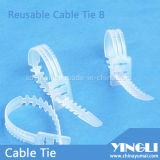 魚Bone Shapeの再使用可能なCable Ties