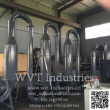 Heiße Presse-hölzernes Sägemehl/Schnitzel-Block, der maschinelle Herstellung-Zeile für hölzernen Ladeplatten-Fuss-Block bildet