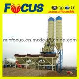 Aufzug-Zufuhrbehälter-konkrete stapelweise verarbeitende Pflanze der Kompaktbauweise-Hzs75