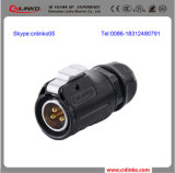Gold Platingn Wire zu Wire IP65 Connector