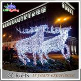 2016 lumières extérieures des décorations neuves DEL Sleigh de Noël