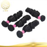 Aaaaaaa Grad-bestes verkaufendes unverarbeitete Haar-Jungfrau-menschliches Klipp-Haar