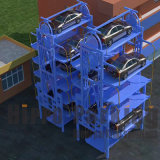 8 سيّارة معياريّة شاقوليّ دوّارة يشغل ذكيّة برج سيّارة مصعد موقف نظامة