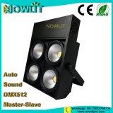 4 LED blanco cálido de los ojos de la luz de Blinder