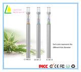 Penna di vetro elettronica Vape a gettare del vaporizzatore di Cbd Thc Ceamic della sigaretta