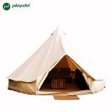 tende del Tipi della tenda di Bell della tela di canapa del cotone di 5m per gioco esterno