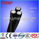 Низкое напряжение 600 В трехсекционных кабель, кабель ABC