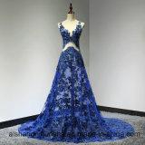 V-Stutzen sehen blosses Abend-Kleid