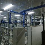 Sala de ordenha tipo túnel ósseo de peixe 20 lugares