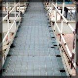 제조자 비비기를 위한 관통되는 금속 층계 보행