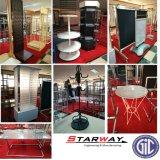 Chapa de Aço Tainless Store TV Varejo Malha Piso Exposição de Trabalho S