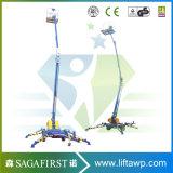 автотелескопическая вышка высокого оборудования подъема конструкции безопасности 10m воздушного регулируемая