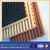 Bureau respectueux de l'environnement, écran antibruit de bois de construction en bois à la maison de décoration