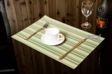 Couvre-tapis tissé enduit par PE de Tableau de caboteur de cuvette de Placemat pour la chaleur ignifuge Insultion de meubles extérieurs de meubles de jardin de meubles de maison de meubles d'hôtel