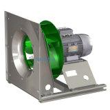 La cámara de aire del ventilador centrífugo de enchufe con lámina de aire