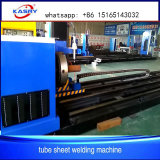 Industrielle Mittellinie CNC-Rohr-Loch-Ausschnitt-Maschine des Plasma-3 mit Lichtbogen Thc