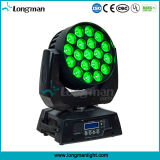 RGBW 19x15W UL Cabezal movible LED PRO Iluminación para Hall
