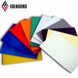 1250*3500mm exterior Unbreakble Panel Compuesto de Aluminio flexible